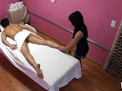 Have A Pleasure watching sex during massage in all smutty details