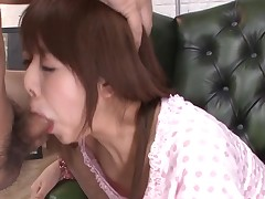 Favourable stud acquires rapturous blow job from sexy Asian babe
