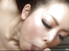 You know a lot of Japanese women are very sexual. Yuki is no exception, loving having two dicks to play with instead of just one. They get her cunt wet and she responds by taking turns sucking and licking them both. Then she keeps both happy by having one fuck her and sucking the other.