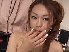 Have joy staring at beautiful Asian chick getting group-fucked hawt