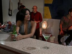 Bonerific Lesbo Babes Briana Blair and Kaylani Lei Eat Their Twats